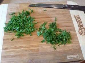 Тосты с салатом из сельдерея и яиц - фото шаг 4