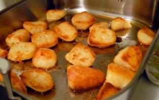 Картошка кусочками в духовке - фото шаг 5