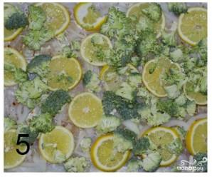 Рыба с брокколи в сливочном соусе - фото шаг 6
