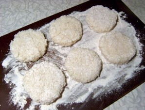 Рисовые биточки - фото шаг 4