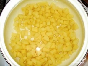 Итальянский суп с сыром - фото шаг 1