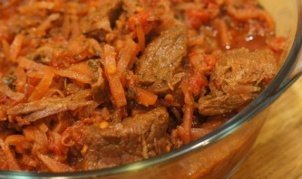 Мясо, тушеное в мультиварке Поларис - фото шаг 4
