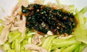 Салат с омлетом и курицей - фото шаг 6