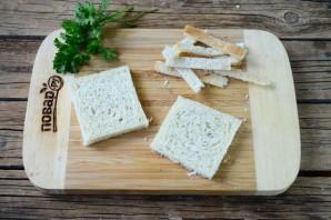 Сосиски в хлебе для тостов - фото шаг 2