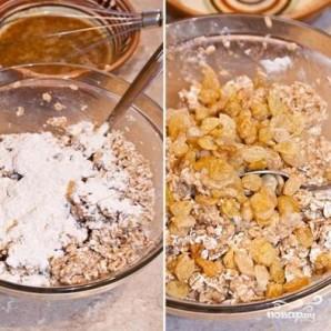 Пирог с изюмом овсяный датский - фото шаг 3
