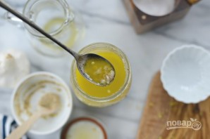 Лимонная заправка для салата - фото шаг 5