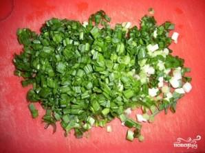 Салат из скумбрии с рисом - фото шаг 2