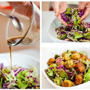 Вегетарианский салат из кабачков - фото шаг 5