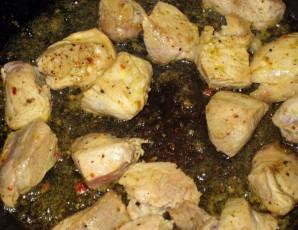 Свинина с рисом и овощами - фото шаг 2