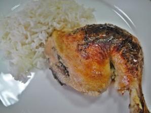 Курица в йогурте в духовке - фото шаг 6