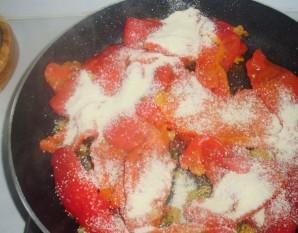 Перец на сковороде - фото шаг 6