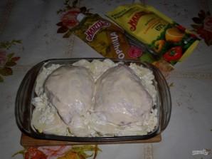 Запеченные куриные ножки с картофелем - фото шаг 8