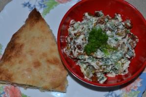Салат из синеньких - фото шаг 4