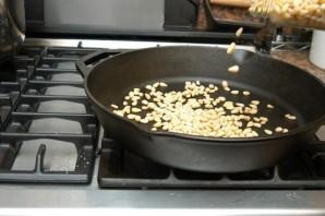 Песто на сковороде - фото шаг 4