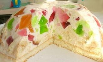 """Торт """"Разбитое стекло"""" - фото шаг 11"""