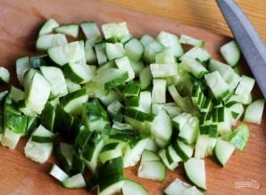 Очень сытный салат - фото шаг 5