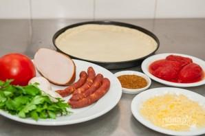 Пицца по-баварски - фото шаг 1