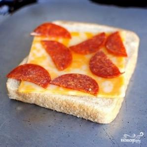Горячие пицца-бутерброды - фото шаг 2