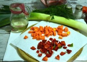 Овощное рагу со свининой в духовке - фото шаг 4