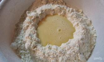 Рецепт кудрявого пирога с вареньем - фото шаг 5