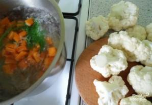 Цветная капуста запеченная в духовке с яйцом - фото шаг 2