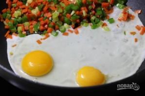 Рис с овощами и яйцом - фото шаг 2