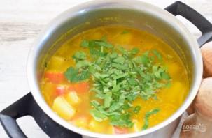 Суп из крабовых палочек - фото шаг 7