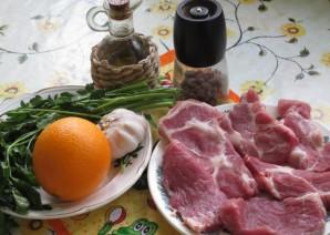 Свиная шейка на сковороде - фото шаг 1