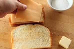 Сэндвич с сыром  - фото шаг 3