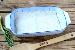 Сырный пирог из армянского лаваша - фото шаг 4
