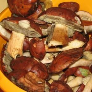 Салаты на зиму с грибами - фото шаг 1