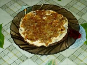 Печеночный пирог слоями - фото шаг 12
