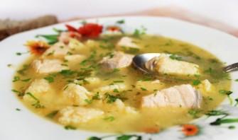 Рыбный суп с клецками - фото шаг 8