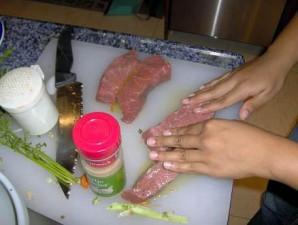 Овощи с говядиной в меду - фото шаг 5