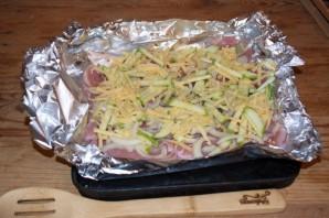 Курица отбивная с овощами - фото шаг 4