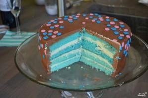 Торт на годик ребенку - фото шаг 4