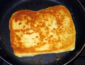 Хачапури с сыром на сковороде - фото шаг 8