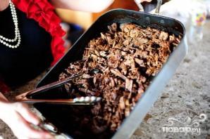 Тортильяс с говядиной, перцем и луком - фото шаг 1