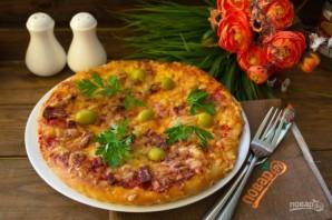 Классическая пицца - фото шаг 8
