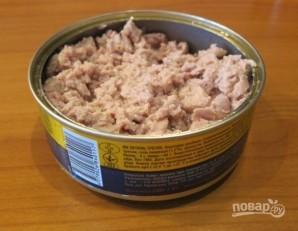 Салат из печени трески (рецепт) - фото шаг 4