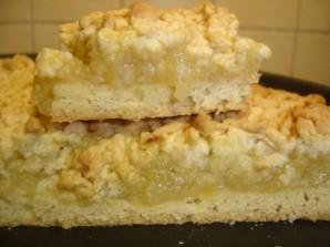 Тертый пирог с лимоном - фото шаг 7