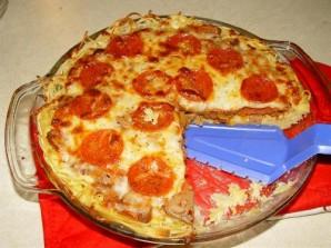 Пирог из спагетти - фото шаг 8
