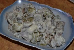 Салат с телятиной - фото шаг 4