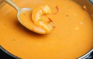Томатный суп-пюре с креветками - фото шаг 5