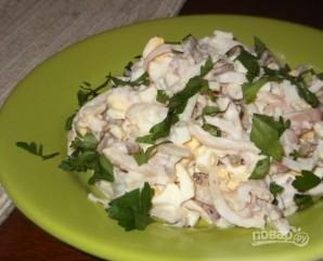 Салат из кальмаров с заправкой - фото шаг 7