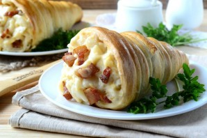 Макароны с сыром в рожке - фото шаг 13