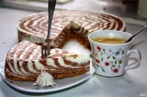 Творожный торт без выпечки - фото шаг 8