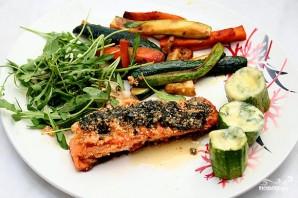 Семга с овощами - фото шаг 5
