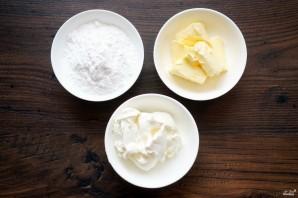 Крем из творожного сыра - фото шаг 1