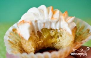 Апельсиновые капкейки с глазурью - фото шаг 4